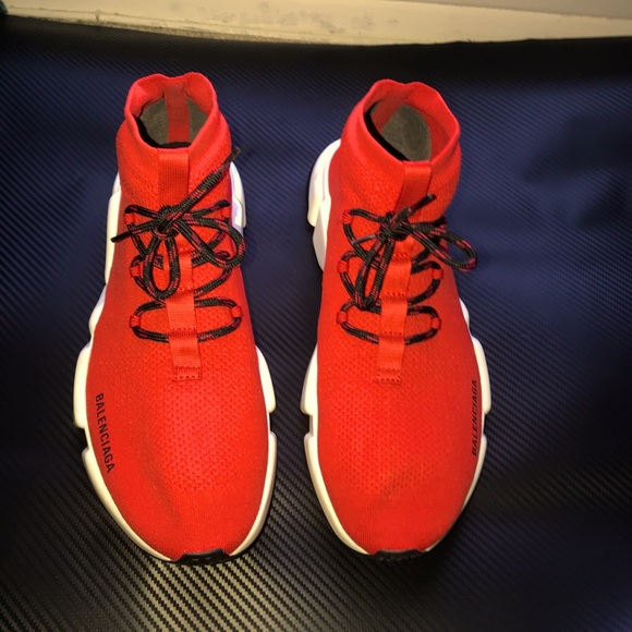 Balenciaga Shoes   Red Limited Edition